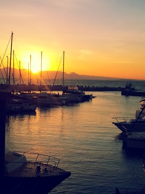 Sunset in Gordon's bay - Explore the World with Travel Nerd Nici, one Country at a Time. http://travelnerdnici.com