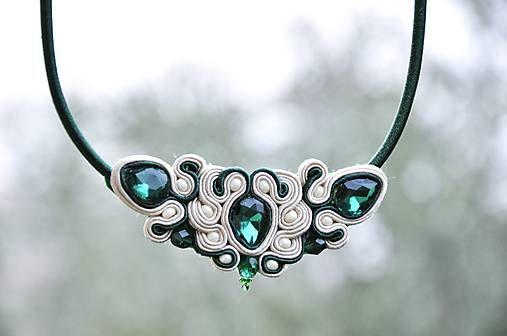 Cukorpalantak / Liza - šujtášový náhrdelník