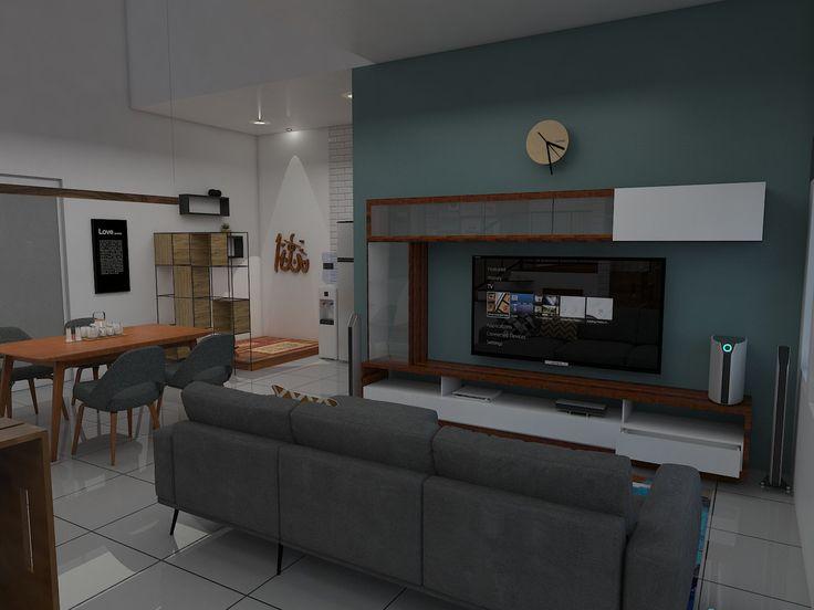 Inspirasi desain ruang keluarga bergaya minimalis | Portofolio By : Consignment (Interior Designer di Sejasa.com)