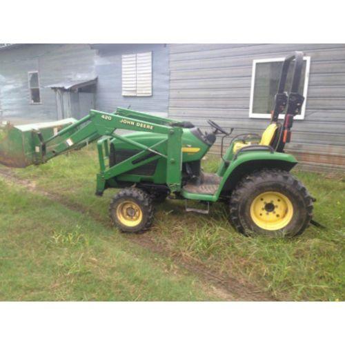 John Deere Tractor Backhoe Parts : Used john deere tractor parts eq call