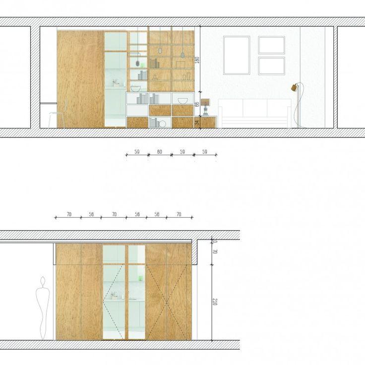 250 melhores imagens de interni disegni e tavole no pinterest arquitetos arquitetura de. Black Bedroom Furniture Sets. Home Design Ideas