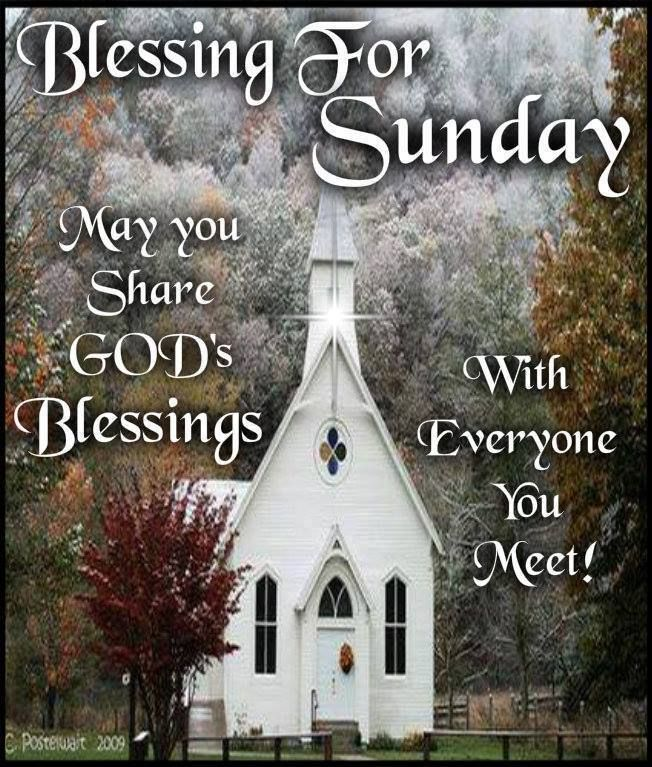 Morning Prayers Sunday Blessings Good And
