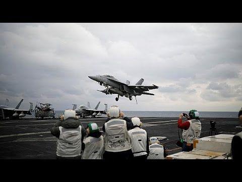 EUA reposicionam-se ao largo da Coreia do Norte