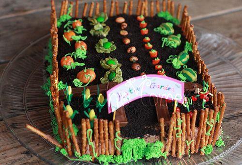 Mason Moments Garden Cake And Dirt Cake Peter Rabbit
