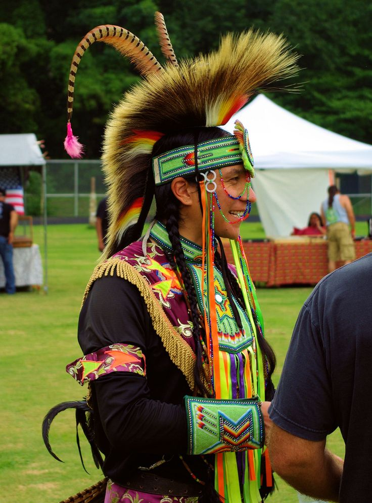 Pow wow at Cherokee Indian Reservation in North Carolina