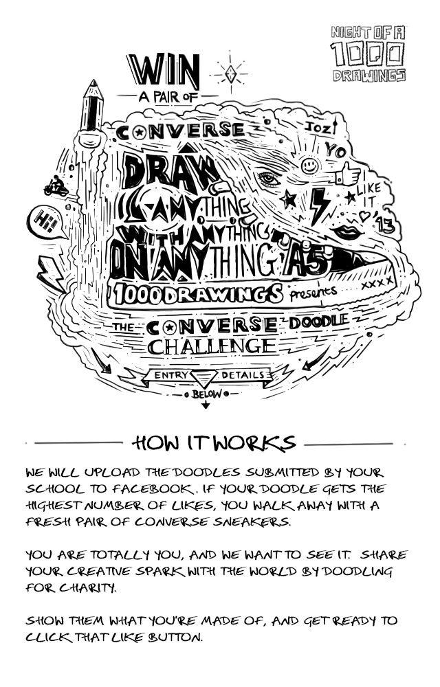 Converse Doodle Challenge