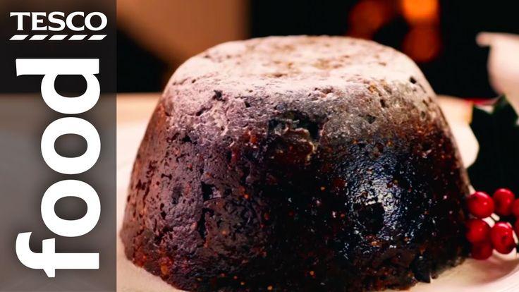 how to cook christmas pudding