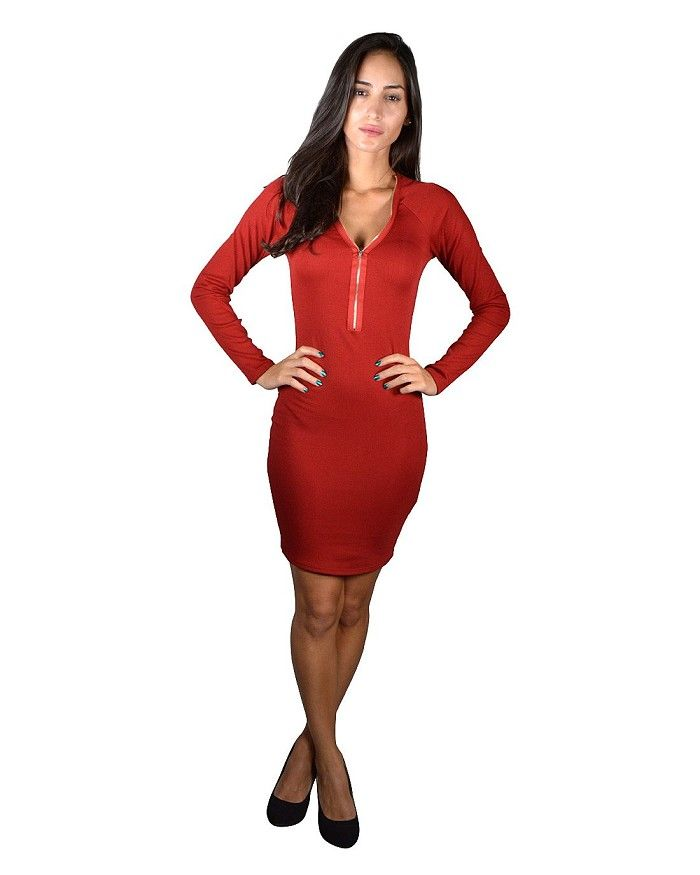 Solid Slim Fit Full Sleeves Bodycon Dress Is Just $7.99 #affordable plus size clothing, #buy cheap clothes online, #buy clothes online, #buy clothes online, #cheapclothes, #cheap clothes for women, #cheap clothes online, #cheap clothing, #cheap clothing online, #cheap clothing sites, #cheap clothing stores, #cheap clothing stores online, #cheap clothing websites, #cheap fashion clothes, #cheap fashionable clothes, #cheap junior clothing, #cheap online clothing stores, #cheap online shopping,