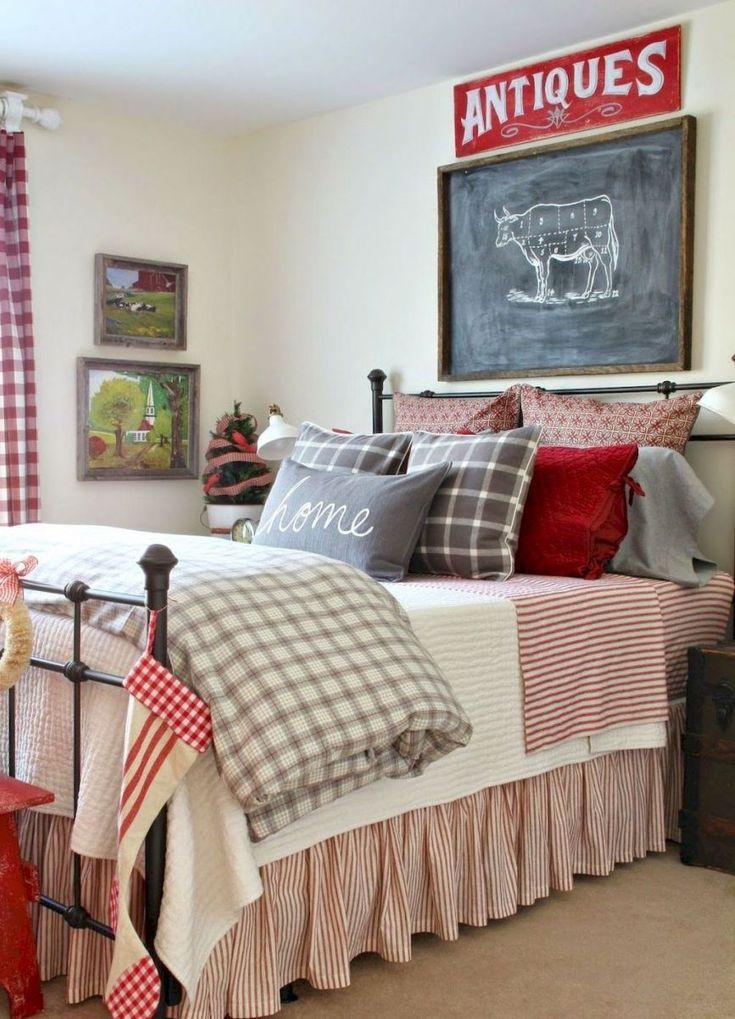 Rustic Farmhouse Master Bedroom Ideas 14