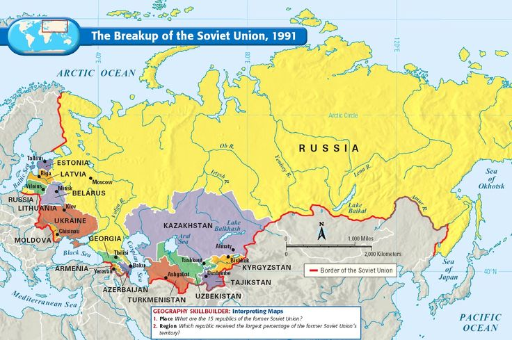 The Breakup of the Soviet Union, 1991