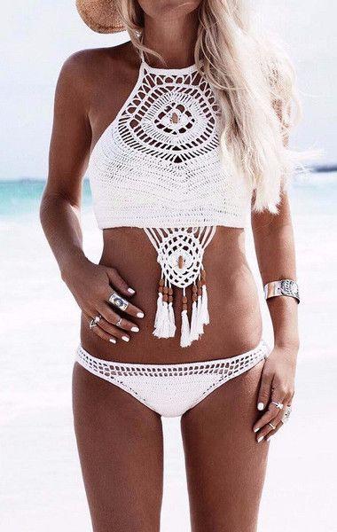 Dream Catcher Crochet Bikini: