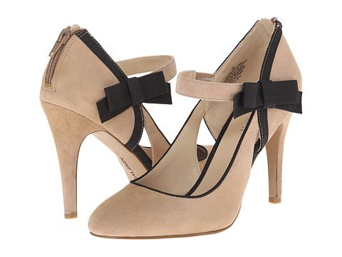 Nine West Seaofshoes Black/Black Tribeca Suede/Gros Grain - 6pm.com
