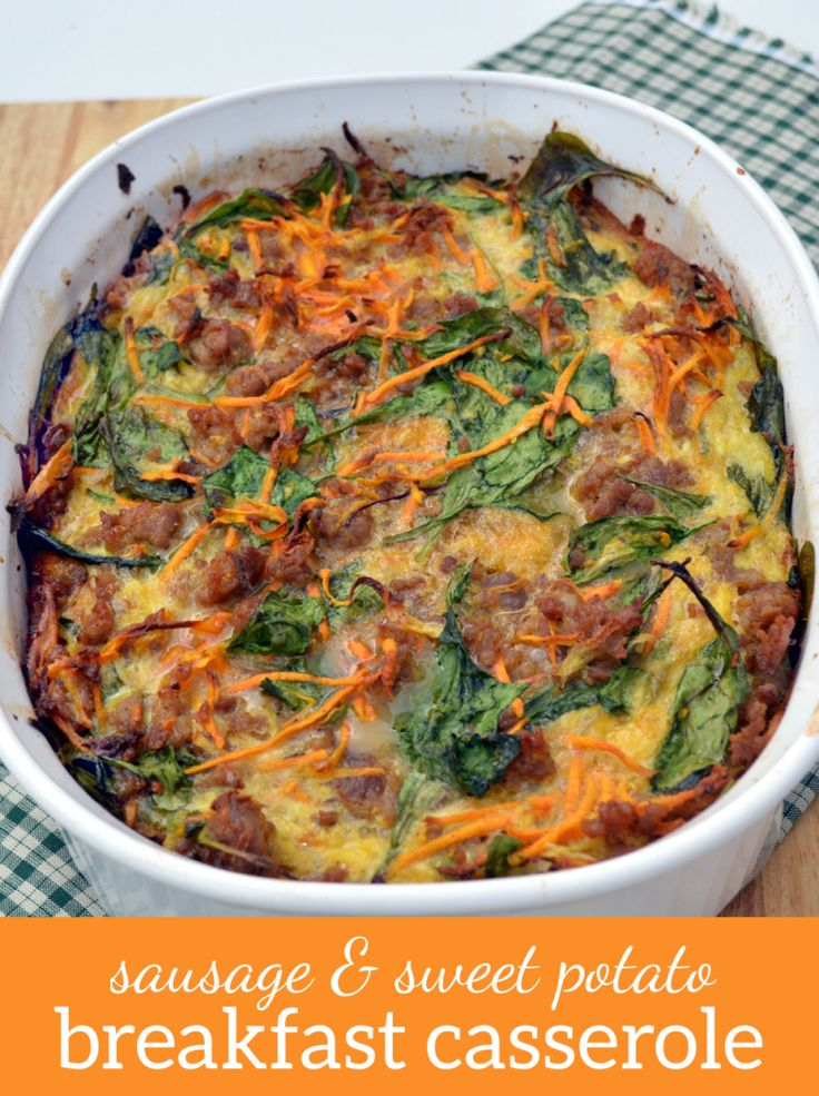 ... and Sweet Potato Breakfast Casserole | Recipe | Plaid, Sweet and Paleo