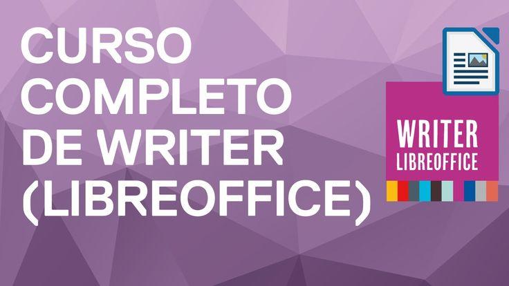 curso completo de Writer academia informate oposiciones