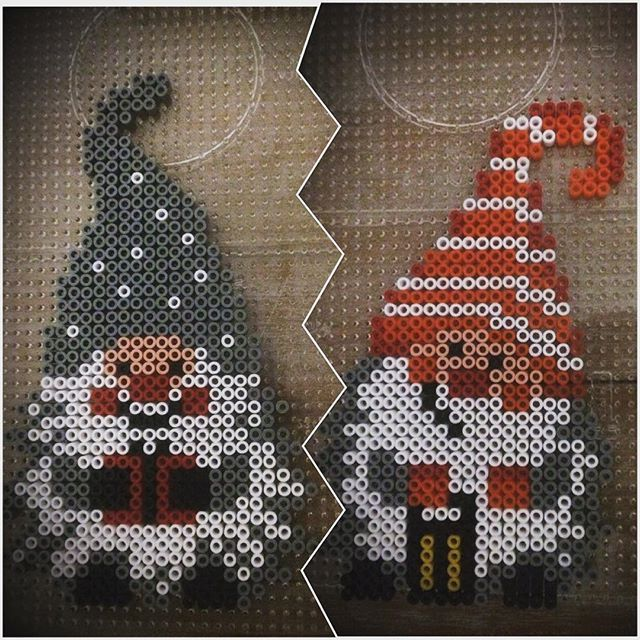 Gnomes Christmas hama beads by gundtoft80 and husted78