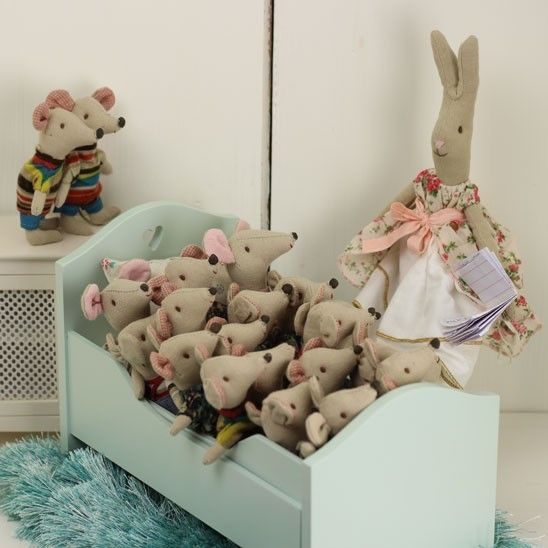 Maileg Little Brother and Sister Mouse - Lottie Mutton :: Interior Design :: Gifts & Accessories Online Shop