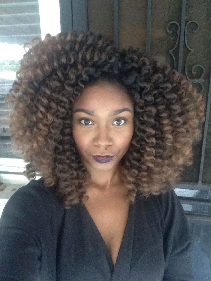 Crochet Box Braids With Leave Out : ... Crochet Braids sur Pinterest Tresses Au Crochet, Tresses et