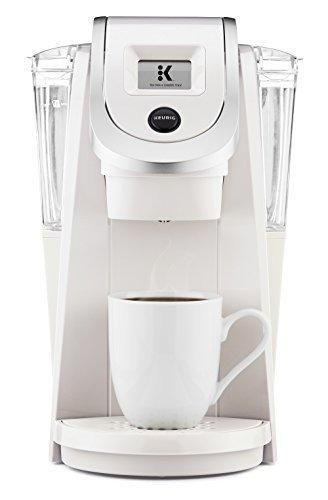 Keurig K250 Single Serve Programmable K-Cup Pod Coffee Maker with strength control Sandy Pearl