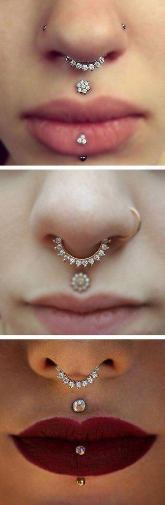 Dainty Septum Piercing Jewelry Small Pretty Fake Tumblr Classy Cute - www.MyBodiArt.com