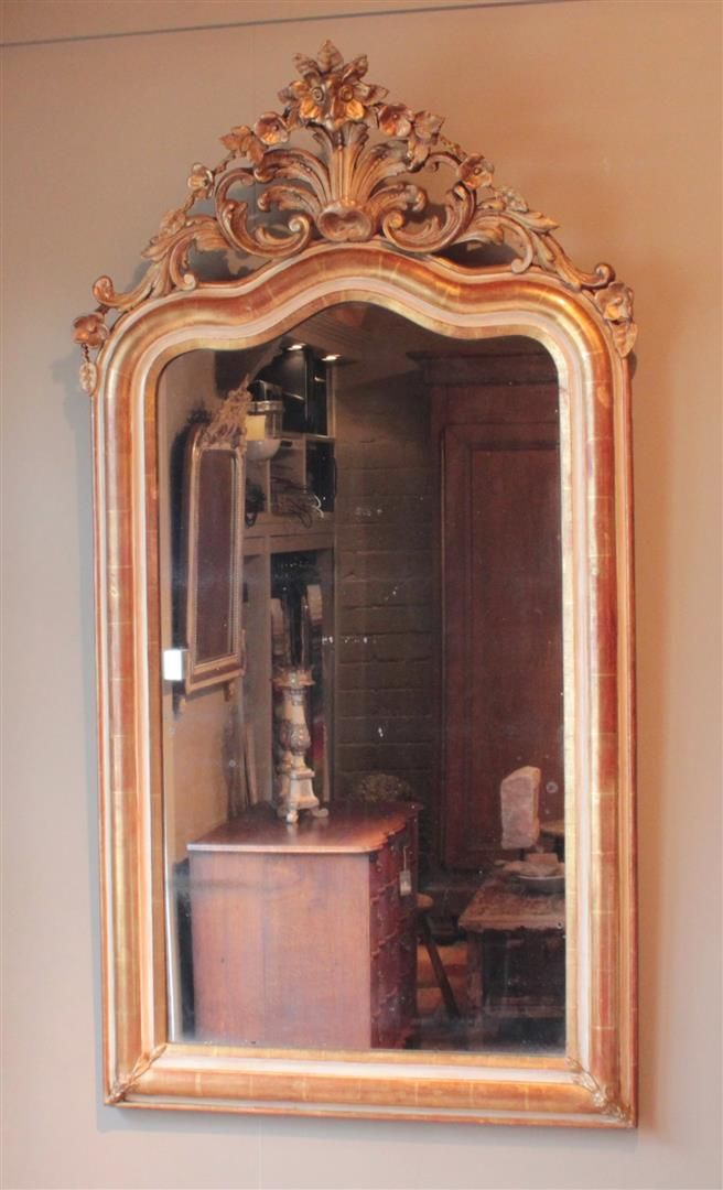 25 beste idee n over franse spiegel op pinterest for Antiek interieur