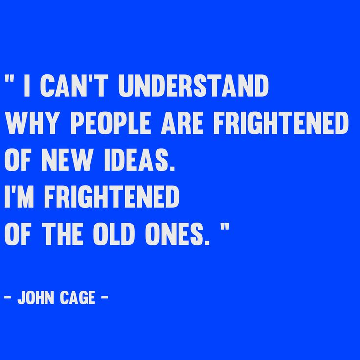 John #Cage #quote #invention #proverb #worldwebmarketing