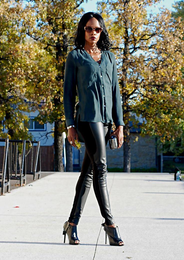 new #ootd @ stylemydreams.wordpress.com #leatherlegging #falllayers #fashion #wiw