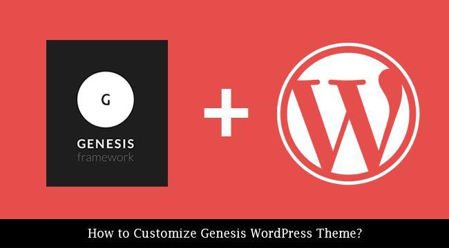 Customize Genesis WordPress Theme