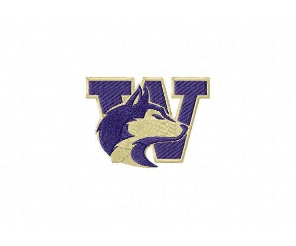 University Of Washington Huskies >> University of Washington Huskies logo machine embroidery ...