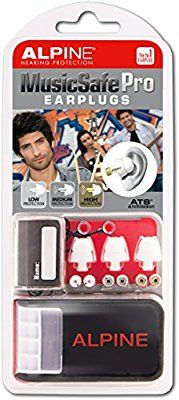 Alpine MusicSafe Pro Filter Ear Plugs for Musicians - White: Amazon.co.uk: Musical Instruments
