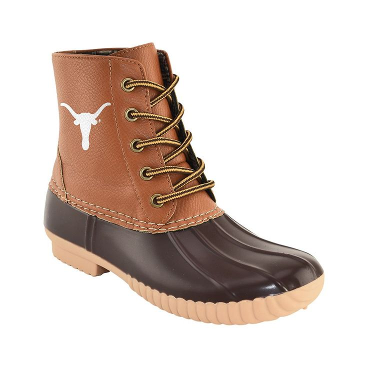 Women's Primus Texas Longhorns Duck Boots, Size: 11, Brown
