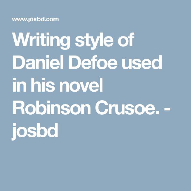 daniel defoe robinson crusoe ebook