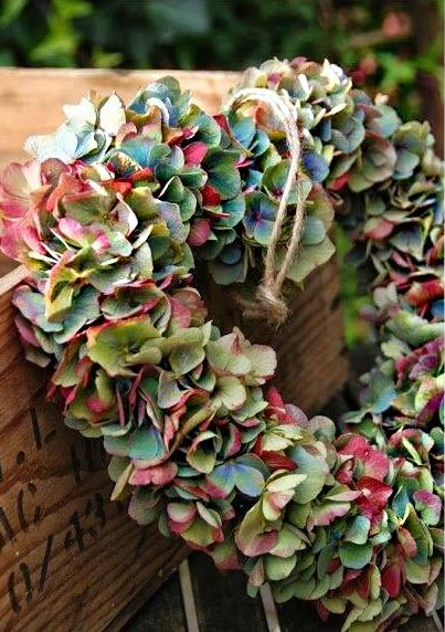 flower wreath ♥