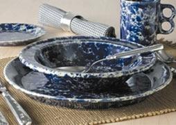 Bennington Potters, Classic  Dinnerware Set  | 12 Piece | Service for 4