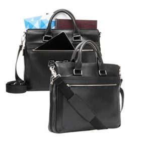 Promotional Products Ideas That Work: The principle - leather briefcase . Get yours at www.luscangroup.com