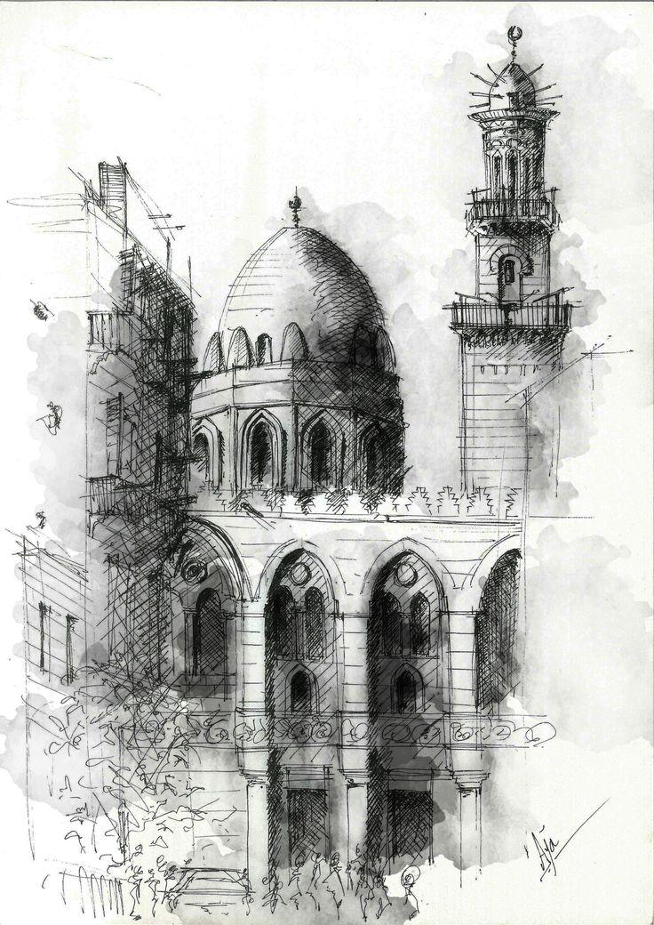 Mausoleum of Sultan Qalawun, located on Al Mu'izz street , Old Cairo