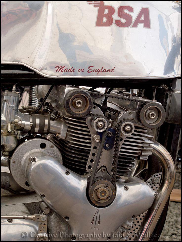 This BSA looks quite special. Carole Nash Classic Bike Show, Lanark, Scotland 2012.