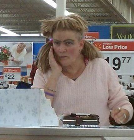 Hair Style In Walmart : at walmart walmart shoppers shoppers wtf walmart specials walmart ...