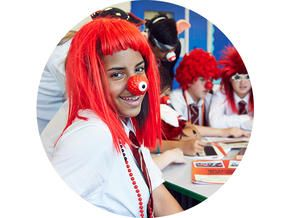 Pay in fundraising money | Red Nose Day