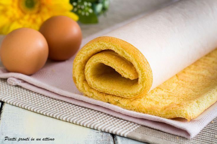 La pasta biscotto è una base morbida e spugnosa, perfetta per realizzare rotoli golosi; la sua preparazione è davvero molto semplice.