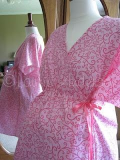 DIY Hospital gown perfect for nursing!   Needed desperately for new moms, learning to nurse in gowns that practically fall off with endless visitors, will not help breastfeeding.  epattern $12