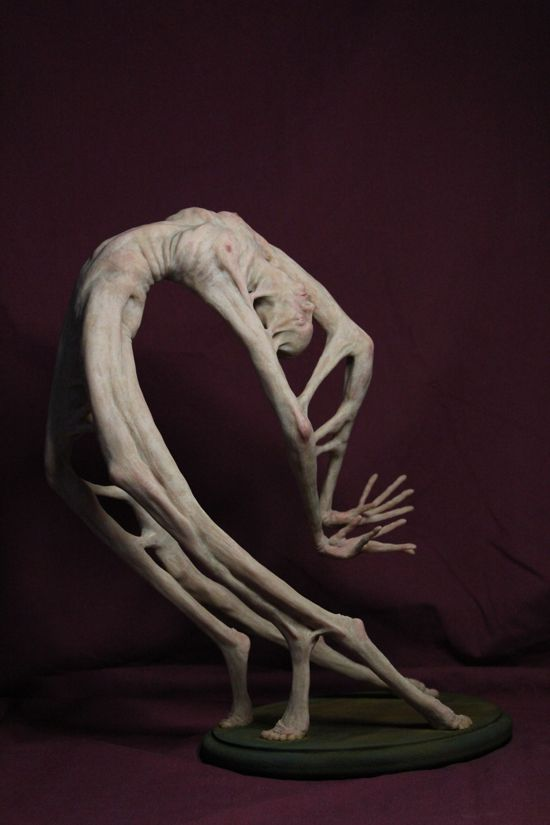 Mike Philbin's free planet blog: Matthew J. Levin - loathsome, monstrous creatures - surreal sculptures