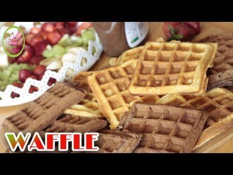 WAFFLE NASIL YAPILIR?/ŞİŞ WAFFLE /ŞEFFAF MUTFAK - YouTube