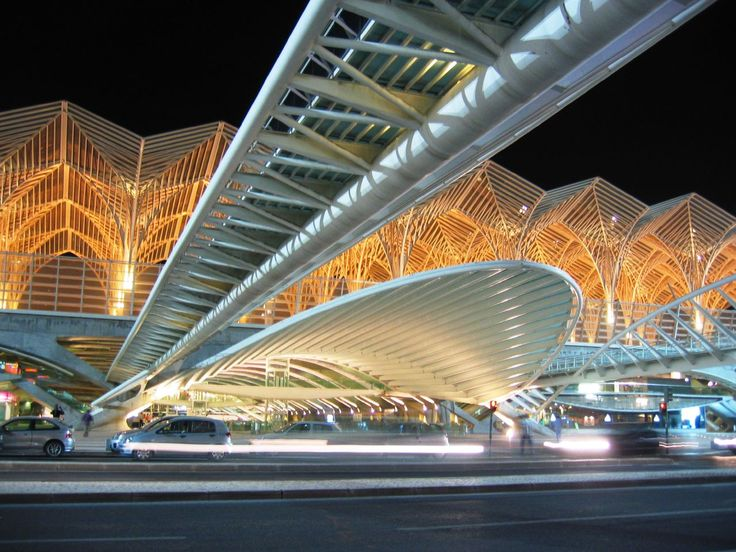 Oriente railways Station, Lisbon, Portugal