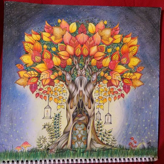 Take A Peek At This Great Artwork On Johanna Basfords Colouring Gallery BasfordColouringColoring BooksZentangleDoodlesTherapyEnchanted ForestBooks