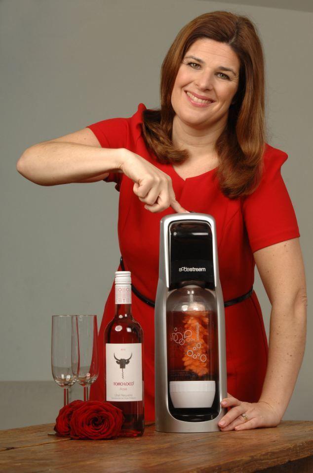 Helen McGinn tries out using a SodaStream to make alternative champagne