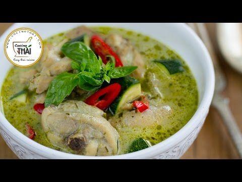 Curry verde con pollo tailandés (แกงเขียวหวานไก่) | Kwan Homsai