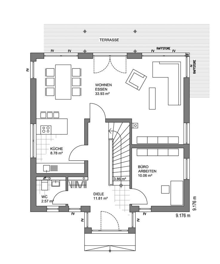 180 besten ideen rund ums haus bilder auf pinterest grundrisse traumhaus und amerikanische h user. Black Bedroom Furniture Sets. Home Design Ideas