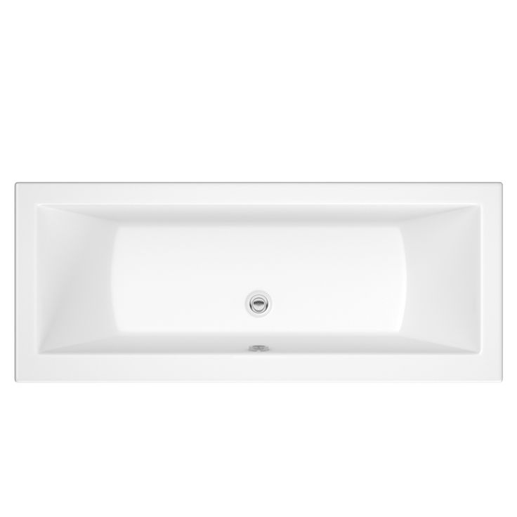 Channel 1700 x 700mm Double Ended Standard Bath - Image 1