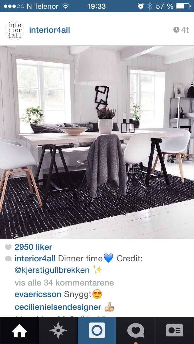 Kjølen bord + stoler