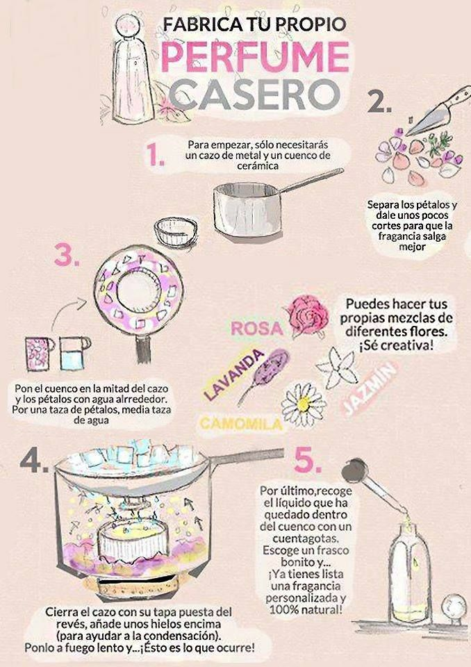 Makeup Artist ^^ | https://pinterest.com/makeupartist4ever/  Perfume casero! :)